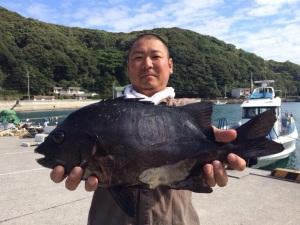 竹下さん  石鯛46cm