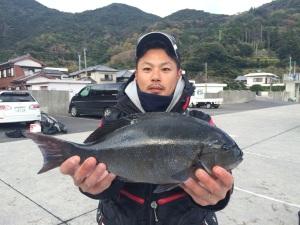 中島さん  尾長42cm