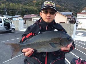 松田さん  尾長41cm