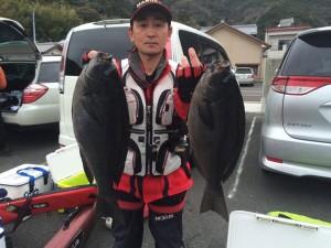 山本さん  48cm  46cm