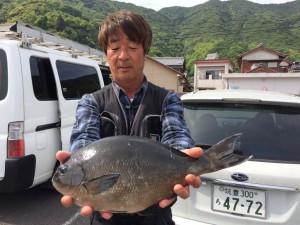 作本さん  尾長46cm
