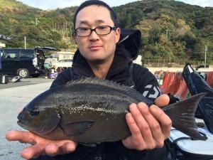 田中さん   尾長40cm