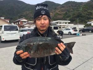 竹田さん 尾長40オーバー