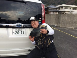 中川さん   46cm