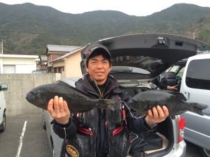 田村さん   46cm×2