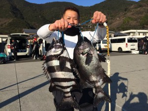柴田さん   石鯛53cm