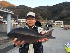 藤川さん   尾長43cm