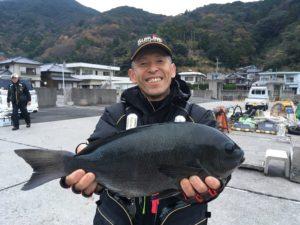 山崎さん   46.5cm
