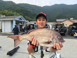 中元さん   真鯛55cm