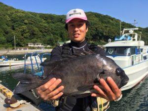 遠藤さん   石鯛54cm